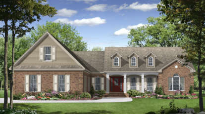 3 Bed, 2 Bath, 2000 Square Foot House Plan - #348-00098