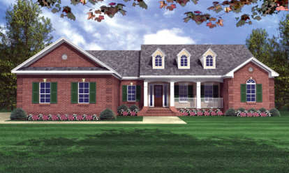 4 Bed, 2 Bath, 2000 Square Foot House Plan - #348-00099
