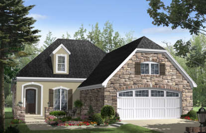 3 Bed, 2 Bath, 2000 Square Foot House Plan - #348-00101