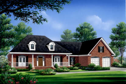 3 Bed, 2 Bath, 2004 Square Foot House Plan - #348-00105
