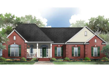 3 Bed, 2 Bath, 2005 Square Foot House Plan - #348-00106