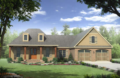3 Bed, 2 Bath, 2007 Square Foot House Plan - #348-00108