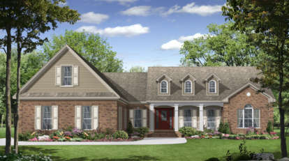 3 Bed, 2 Bath, 2021 Square Foot House Plan - #348-00112