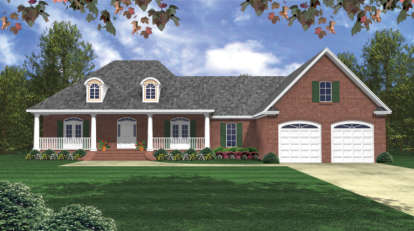 3 Bed, 2 Bath, 2024 Square Foot House Plan - #348-00114