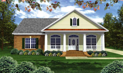 3 Bed, 2 Bath, 2050 Square Foot House Plan - #348-00115