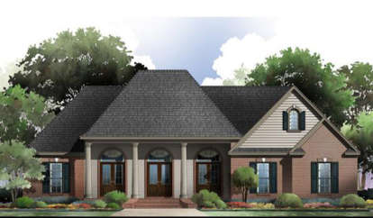 3 Bed, 2 Bath, 2100 Square Foot House Plan - #348-00118