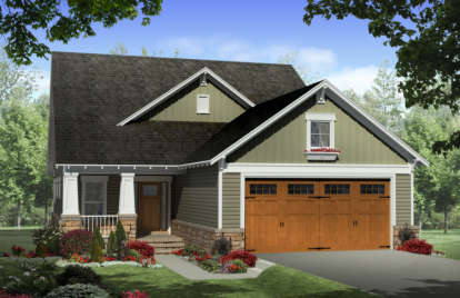 3 Bed, 2 Bath, 2104 Square Foot House Plan - #348-00125