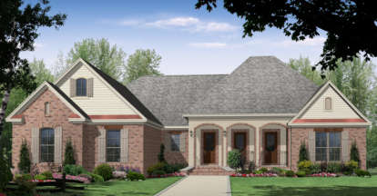 3 Bed, 2 Bath, 2201 Square Foot House Plan - #348-00130