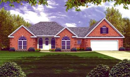 3 Bed, 2 Bath, 2251 Square Foot House Plan - #348-00138