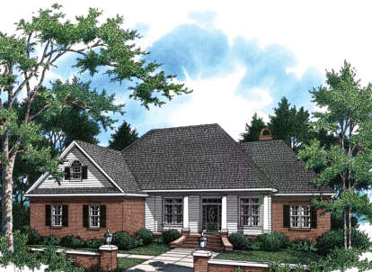 3 Bed, 2 Bath, 2307 Square Foot House Plan - #348-00141