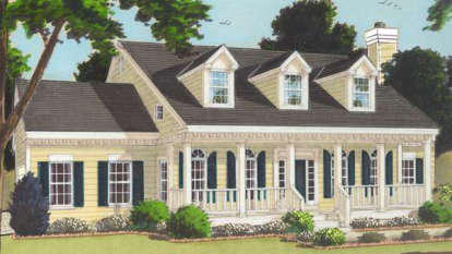 4 Bed, 2 Bath, 2338 Square Foot House Plan - #033-00092