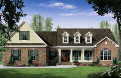 3 Bed, 2 Bath, 2401 Square Foot House Plan - #348-00146