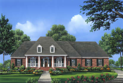 4 Bed, 3 Bath, 2601 Square Foot House Plan - #348-00154