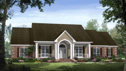 4 Bed, 3 Bath, 2750 Square Foot House Plan - #348-00156