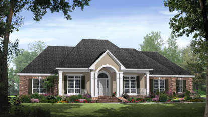 4 Bed, 3 Bath, 2750 Square Foot House Plan - #348-00157