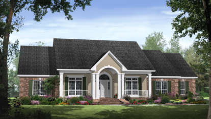 4 Bed, 3 Bath, 2769 Square Foot House Plan - #348-00159