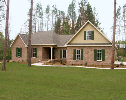 4 Bed, 3 Bath, 3000 Square Foot House Plan - #348-00162