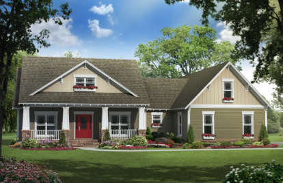 3 Bed, 2 Bath, 1919 Square Foot House Plan #348-00180