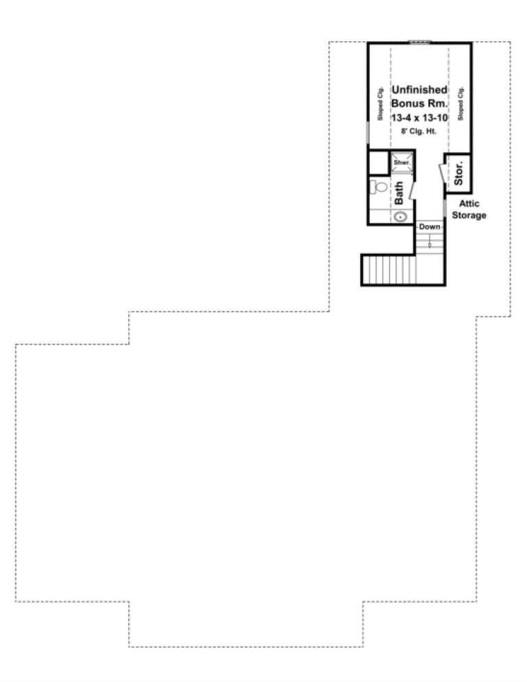 Floorplan 2 for House Plan #348-00188