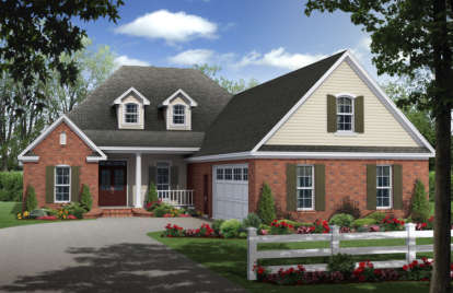 4 Bed, 2 Bath, 2300 Square Foot House Plan - #348-00189