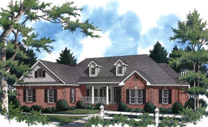 4 Bed, 3 Bath, 2805 Square Foot House Plan - #348-00192