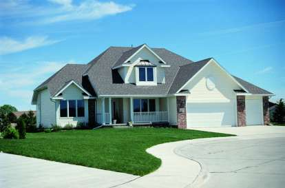 4 Bed, 2 Bath, 1999 Square Foot House Plan - #402-00066