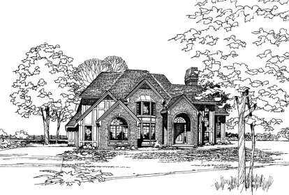 4 Bed, 2 Bath, 3283 Square Foot House Plan - #402-00069