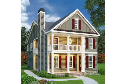 3 Bed, 2 Bath, 1785 Square Foot House Plan - #009-00022