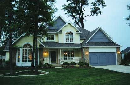 4 Bed, 2 Bath, 2353 Square Foot House Plan - #402-00122