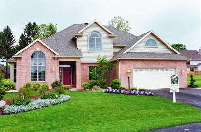 4 Bed, 2 Bath, 2391 Square Foot House Plan - #402-00152