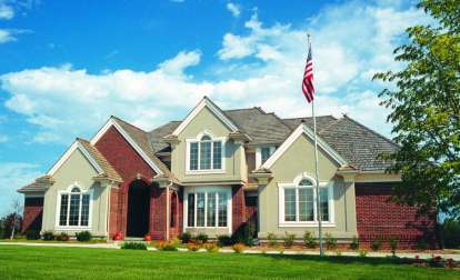4 Bed, 2 Bath, 3172 Square Foot House Plan - #402-00180