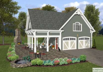 0 Bed, 0 Bath, 1198 Square Foot House Plan #036-00166