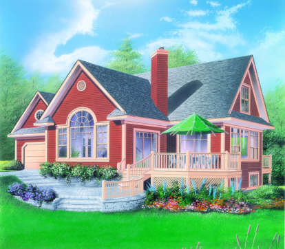 3 Bed, 3 Bath, 2526 Square Foot House Plan - #034-00059