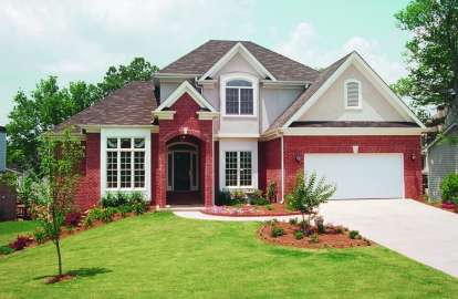 4 Bed, 2 Bath, 2340 Square Foot House Plan - #402-00273