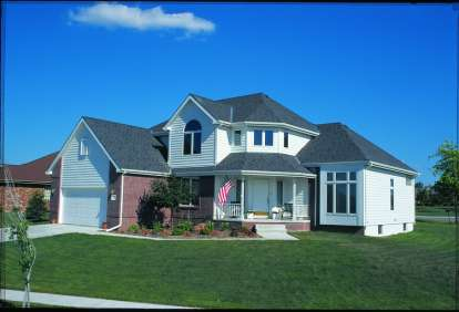4 Bed, 2 Bath, 2089 Square Foot House Plan - #402-00281
