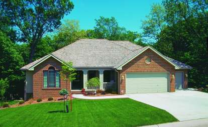 3 Bed, 2 Bath, 1651 Square Foot House Plan - #402-00293