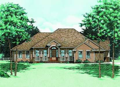 4 Bed, 2 Bath, 2994 Square Foot House Plan - #402-00334