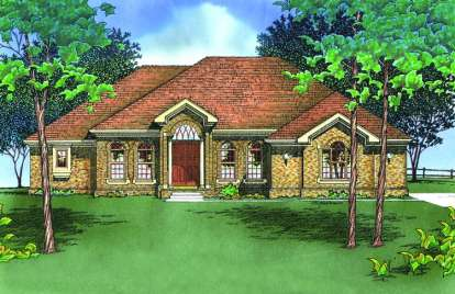 3 Bed, 2 Bath, 2899 Square Foot House Plan - #402-00339