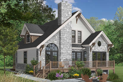 3 Bed, 2 Bath, 1625 Square Foot House Plan - #034-00070