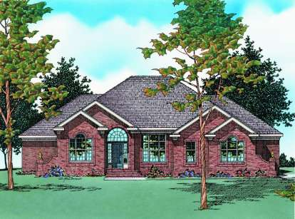 3 Bed, 2 Bath, 2988 Square Foot House Plan - #402-00407