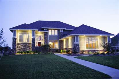 4 Bed, 2 Bath, 2576 Square Foot House Plan #402-00472