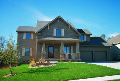 4 Bed, 2 Bath, 2282 Square Foot House Plan - #402-00475