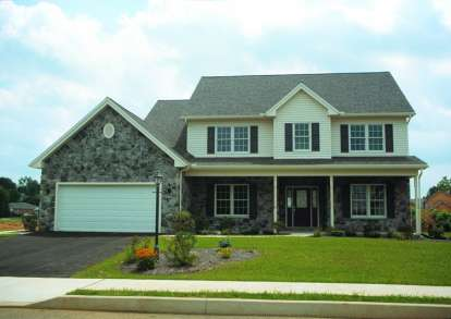 4 Bed, 2 Bath, 2558 Square Foot House Plan - #402-00484
