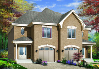 3 Bed, 1 Bath, 3188 Square Foot House Plan - #034-00073