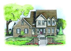 Country House Plan #402-00572 Elevation Photo