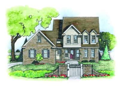 4 Bed, 2 Bath, 2593 Square Foot House Plan - #402-00572