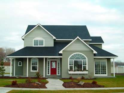 3 Bed, 2 Bath, 2453 Square Foot House Plan - #034-00082
