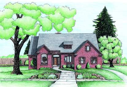 4 Bed, 2 Bath, 2600 Square Foot House Plan - #402-00582