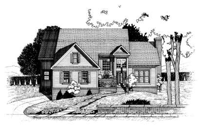 4 Bed, 2 Bath, 2670 Square Foot House Plan - #402-00588