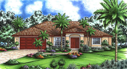 3 Bed, 2 Bath, 1565 Square Foot House Plan - #575-00004